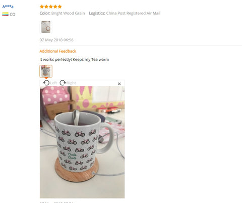 Image of Toasty Coaster Cup Warmer