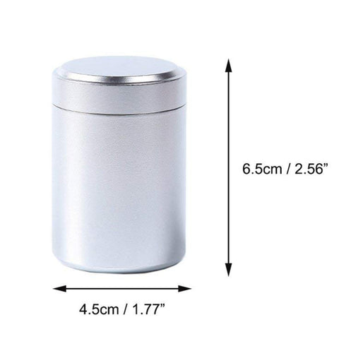 Aluminum Storage Can For Tea/Herbs/Spices - Sunshine & Some Tea