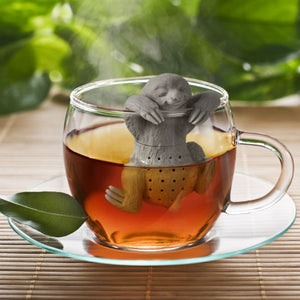 Silicone Sloth Tea Infuser - Sunshine & Some Tea