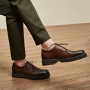 Men's Lightweight Classic Leather Business Shoes
