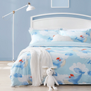 4-piece Whale Pattern Washed Cotton Bedding Sets