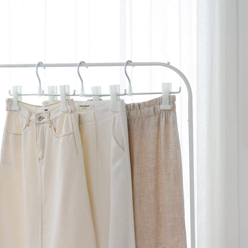 Aluminum Pants Hangers with Clips