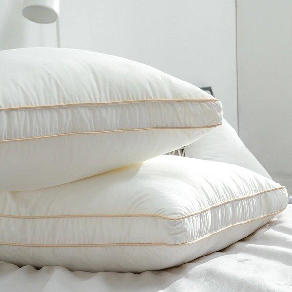 100% Cotton Antibacterial, Anti-mite And Anti-pollen Pillow Home & kitchen LIFEASE