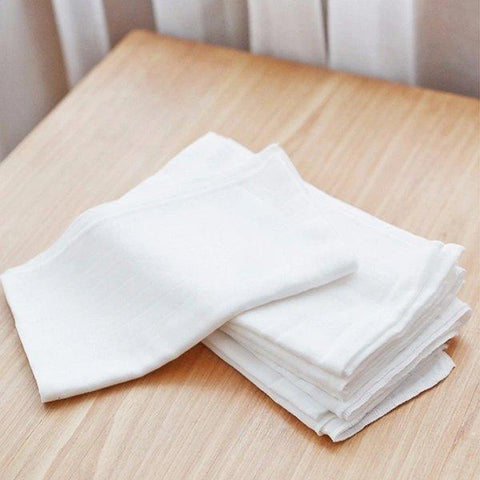 100% Cotton Gauze Diaper for Newborn 0-2 Years - 8 Pack Baby Care LIFEASE