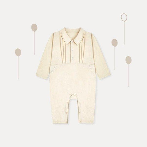 100% Cotton Newborn Antibacterial Jumpsuit Baby Care LIFEASE