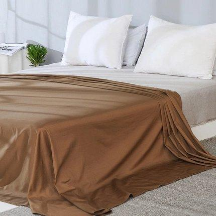 100% Cotton Satin Bed Sheets - Multiple Colors Home & kitchen LIFEASE