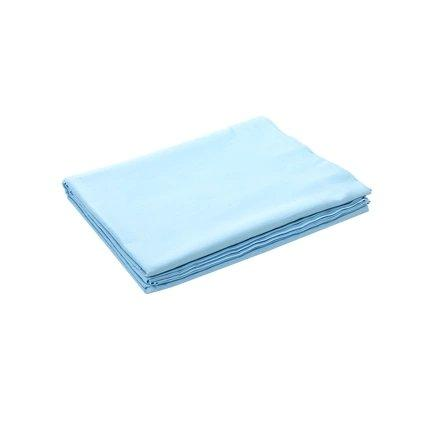 100% Cotton Satin Bed Sheets - Multiple Colors Home & kitchen LIFEASE Blue 96x98 inch
