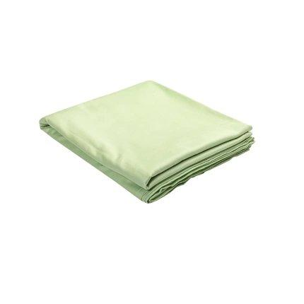 100% Cotton Satin Bed Sheets - Multiple Colors Home & kitchen LIFEASE Green 96x98 inch
