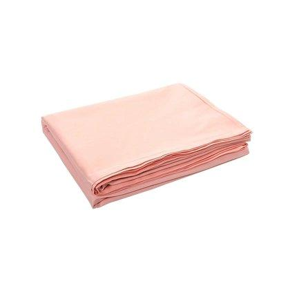 100% Cotton Satin Bed Sheets - Multiple Colors Home & kitchen LIFEASE Pink 96x98 inch