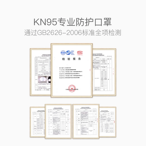 【1 Pack/Person】 KN95 Professional Prevention Face Mask (20 PCs)