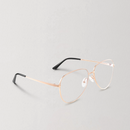 Classic Aviator Clear Lens Glasses for Men and Women