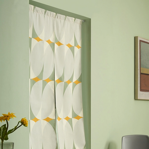 Canvas Partition Door Curtain