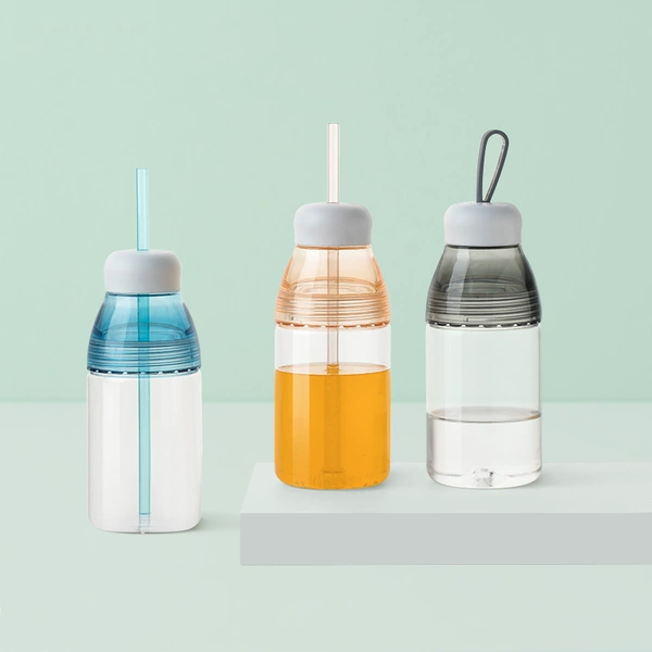 Multi-purpose Double Cover Feeding Bottle