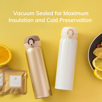 Vacuum Insulated Stainless Steel Water Bottle, 350ml, 500ml Home & kitchen LIFEASE