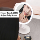 Finger Touch LED Makeup Mirror