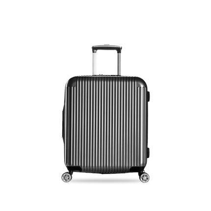 20-inch Pure PC Zipper Luggage(外部仓) Sports & Travel LIFEASE Gray