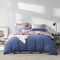 Long-Staple Cotton Sanding 4-Piece Bedding Set with Duvet Cover - Large Twin/Full; Full/Queen