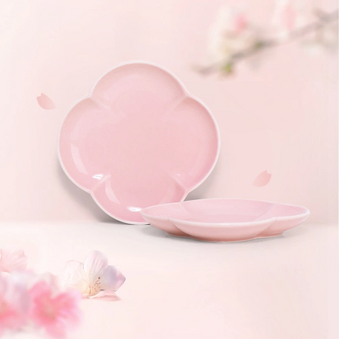 Sakura Pattern Snack Plate(2 Pieces)