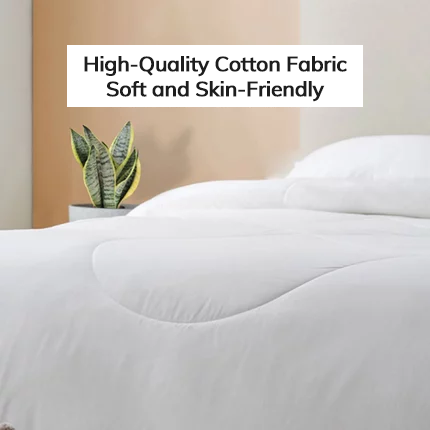 Skin-Friendly Silk & Cotton Comforter - Twin XL/Full/Queen