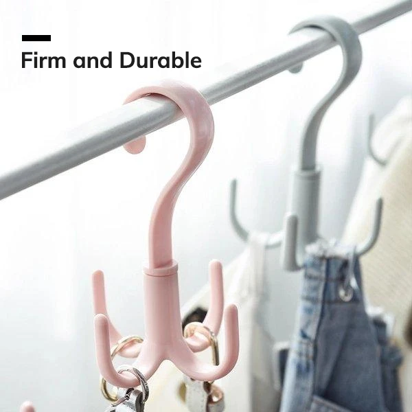 [Minimum 2 Per Order] 360-Degree Rotatable Hook For Travel (2 pieces)