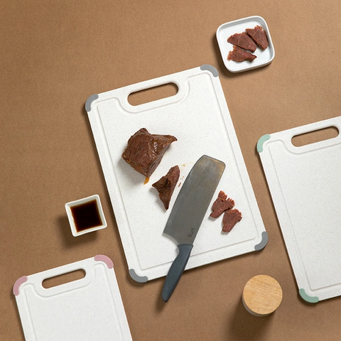 Double-sided Non-slip Antibacterial Cutting Board
