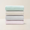 [Minimum 2 Per Order] 4 Pack-Waffle Patterned Cotton Towel