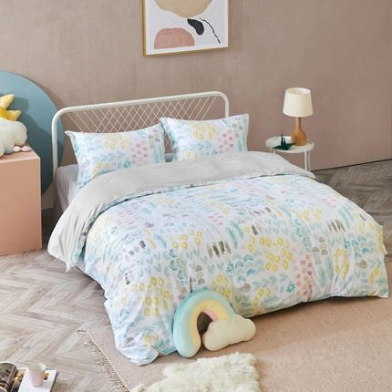 4-Piece Weather Theme Pattern Bedding Set Home & kitchen LIFEASE
