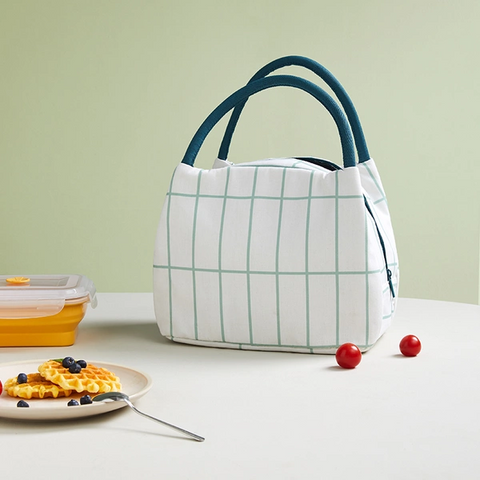 [Minimum 2 Per Order] Lightweight Minimalist Thermal Insulation Heat-Preservation Lunch Bag
