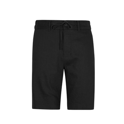 Men's Linen Loose Straight Cropped Trousers Shorts