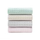 4 Pack-Waffle Patterned Cotton Towel