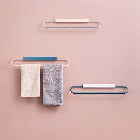 No Drilling Nordic Style Minimalist Towel Rack