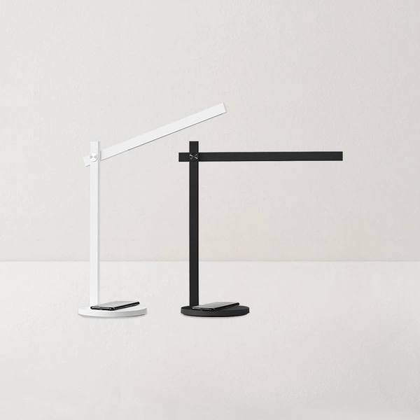 【Use code:MEMORIAL28, Buy 2 Get 20% off】Eye-Caring Desk Lamp with Touch Control and Wireless Charger for Qi-Enabled, 3 Brightness Levels