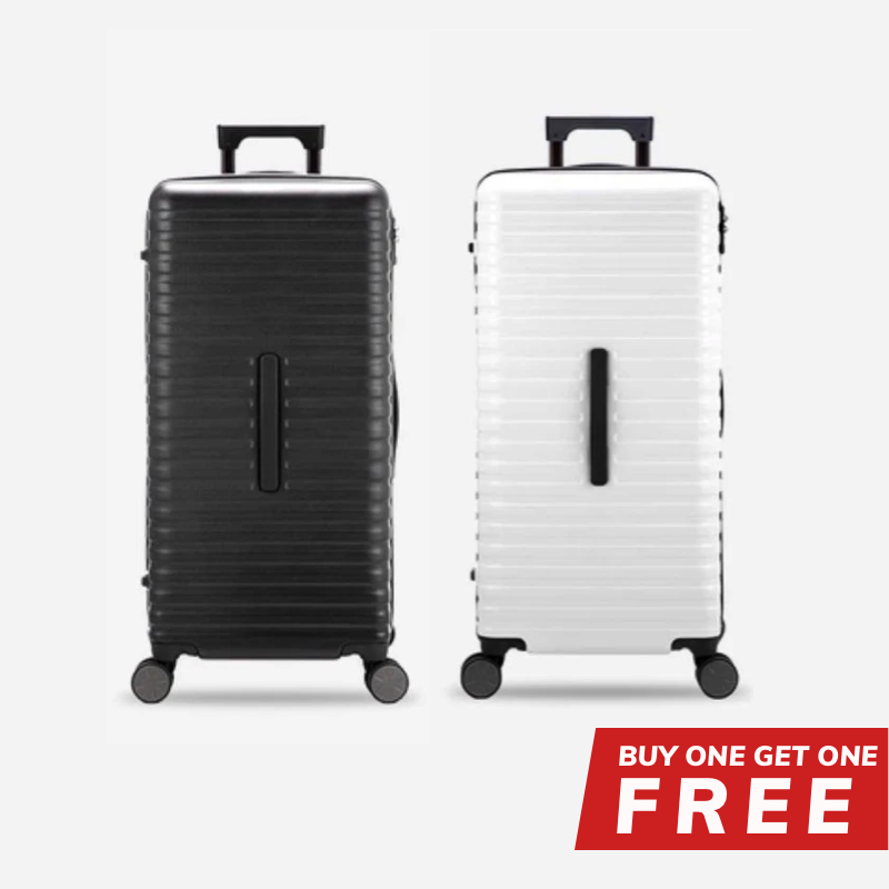 Buy 1 Get 1 Free - 28-Inch 100% PC Luggage with 100L Capacity, TSA Lock and Spinner