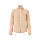 Women's Basic Stand Collar Coral Fleece Jacket