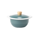 Japanese Enamel Mini-Pot (1.1QT, Offered Various Colors)