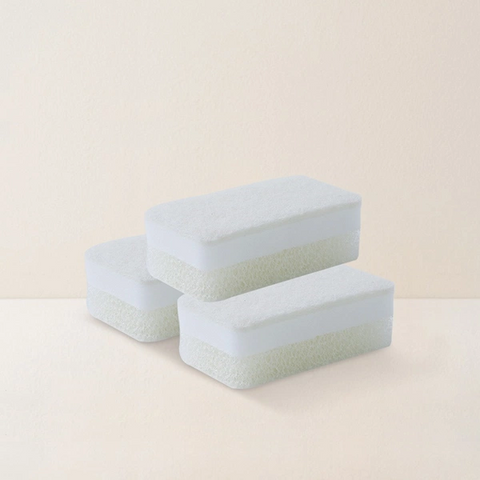 Three-layer Magic Dishwashing Sponge