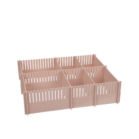 Plastic Drawer Dividers - Multiple Colors