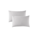 300 Thread count washed cotton satin pillowcases (set of 2)