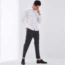 Easy Care Men's Long-Staple Cotton Botton Down Shirt