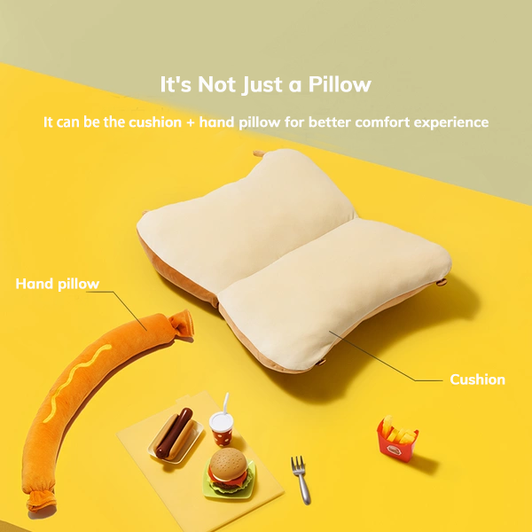 ♪ Fluffy, Puffy and Soft ♪ Fun Mouse Foldable Pillows, You're the Best!