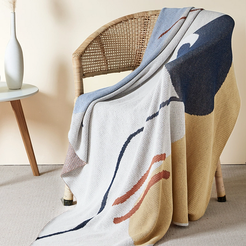 100% Cotton Jacquard Blanket