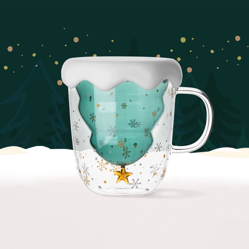 Star-themed Thermal Cup, Double-Walled and Heat-Resistant