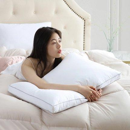 90% Goose Down Feather Antibacterial Pillow Home & kitchen LIFEASE