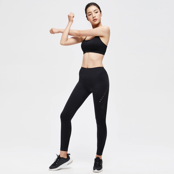 Seamless Workout Gym Hollow Leggings for Women