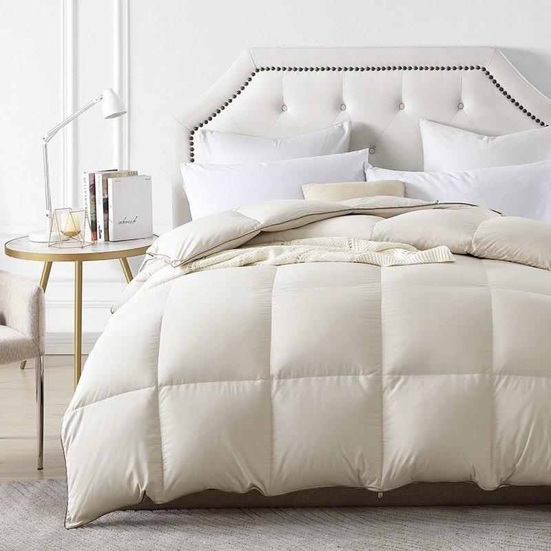 95% White Goose Down Filling Comforter Home & kitchen LIFEASE