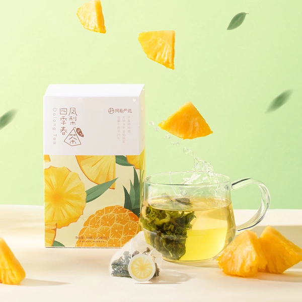 Pineapple Four Seasons Oolong Tea - 15 bags
