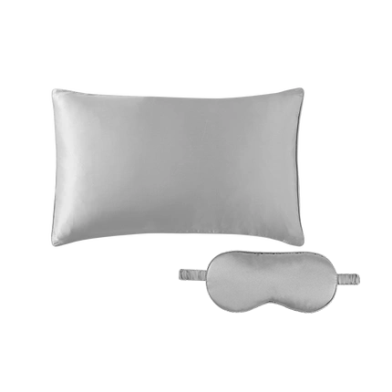 100% Mulberry Silk Pillowcase + Eye Shade Bundle [5-7 Days U.S. Free Shipping]