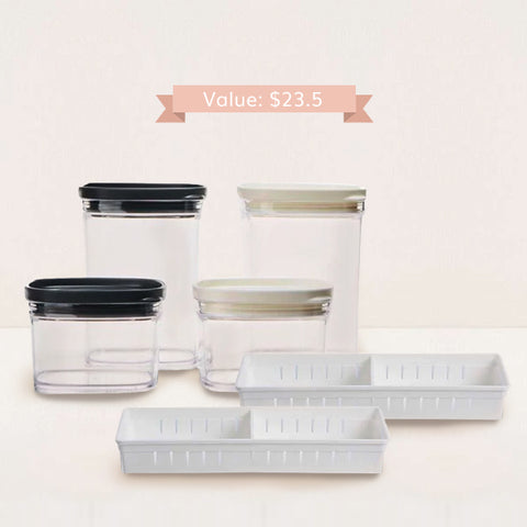 Kitchen Organizing Accessories Combo Value Pack