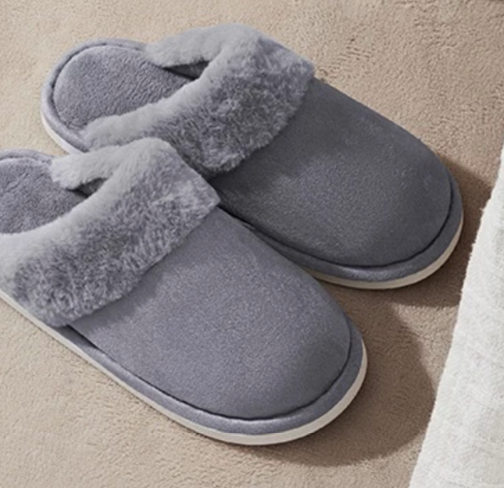 【Minimum 3-Pair Per Order】Light and Comfortable Twill Home Slipper