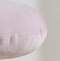 Ultra-Soft Minimalist Round Stuffer Pillow